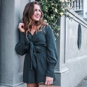 Other - Green romper